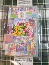 Nintendo Switch Super Mario 35th Anniversary 8 in 1 Card Game Case Tracked Ship