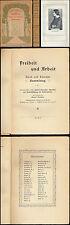 La liberté et du travail Else Laker-élèves H. Homme Th. Homme P. Scheerbart 1910