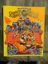 Ringling Brothers and Barnum & Bailey Circus Program 1998 (Sears)