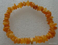 Stretch   butterscotch  Baltic Amber Bracelet  #6