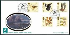 Handstamped Birds Great Britain First Day Covers (1971-Now)
