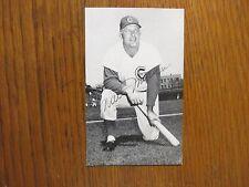WALT  MORYN  (Died in 1996) Chicago  Cubs  Signed   J.  D.   McCarthy   Postcard