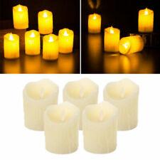 Bougies et chauffe-plats de décoration intérieure de la maison beiges LED