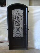 "Stunning 12 Gauge Wrought Iron Entry Door by Monarch Custom Doors (31"" x 81"")"