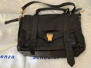 Proenza Schouler Women's  PS1 Medium Dark Chocolate Messenger Bag