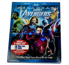 The Avengers (Blu-ray/Dvd, 2012, 2-Disc Set) Includes Slipcover ~ New (other)