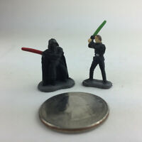 MICRO MACHINES STAR WARS figures Luke Vader Royal Guard playset Galoob loose A9