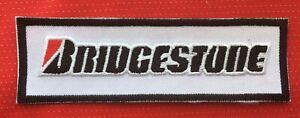 BRIDGESTONE TYRE TYRES RACING TEAM MOTOR SPORTS CAR BADGE IRON SEW ON PATCH 1