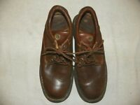 BORN BROWN LEATHER LACE UP OXFORDS SHOES CASUAL MENS SIZE 11 1/2 M / W