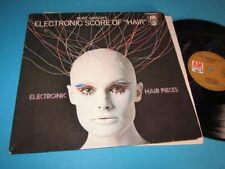 Mort Garson / Electronic Hair Pieces (GER 1969, A&M Records 212 075) - LP