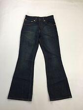 "Women's Levi 525' Bootcut Jeans "" - W28 L30-Scuro Blu Navy Lavare-ottime condizioni"