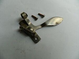 Gramophone Manual Brake control with screws