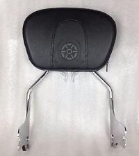 Passenger Sissy Bar Backrest For Harley Touring Electra Glide FLHT 1997-2008