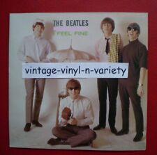 The Beatles ( I FEEL FINE )  BRITISH IMPORT 45 w/ PIC NM/NM  LENNON/McCARTNEY