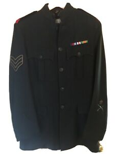 Rifle Brigade No 1 Tunic Post 1952 With Queens Crowns Buttons