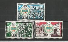 Malta 1983 General de Trabajadores de la SG, 722-724 Um/M nh Lote 2146A