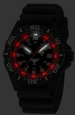 KHS Tactical Watch Red Reaper H3 Light Swiss Movement Date Diver Band KHS.RE.DB