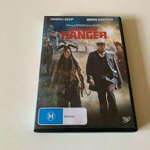 The Lone Ranger Johnny Depp (DVD Region 4)