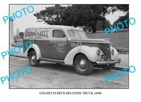 OLD 6 x 4 PHOTO OF GOLDEN FLEECE TRUCK c1940 SYDNEY 4