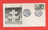 FDC - 1962 - Mémorial de la France combattante - MONT VALERIEN  (742)