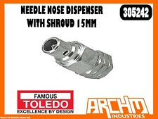 TOLEDO 305242 - NEEDLE NOSE DISPENSER WITH SHROUD 15MM GREASE GUN HAND OPERATED
