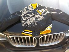 1980's NHL Heavy Satin Starter Style PITTSBURGH PENGUINS Youth Jacket Small
