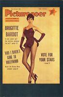 Nostalgia Postcard French actress Bridget Bardot 1956 Repro Card NS23