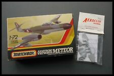 Matchbox - Armstrong Whitworth Meteor + Aeroclub  Mk7 Conversion 1:72 Model Kit