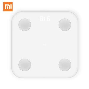 Báscula inteligente Xiaomi Mi Body Composition Scale Fat Scale Versión Global ES