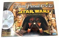 Trivial Pursuit DVD Star Wars Saga Edition FREE SHIPPING Toys & Games Parker Bro