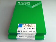 "Fuji RVP Velvia 4 ¾"" x 6 ½"" whole-plate colour transparency film ( 20 sheets )"