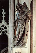 BF371 wien stephansdom  madonna sculpture postcard austria