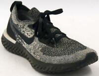 Nike Epic React Flyknit Oreo Black Whit AQ0067-011 Womens Running Shoes Sz 7.5 M
