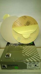 "240's DA STICKY DISCS INDASA RHYNOSTICK 6"" OR 150MM BOX OF 100 ORBITAL SANDER"