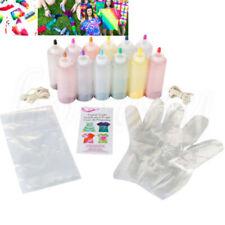 12 Pcs Tulip One Step Tie Dye Kit Vibrant Fabric Textile Permanent Paint Color ~