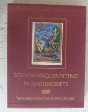Reniassance Painting in Manuscripts British Library Lg H/B Slipcase Illumination