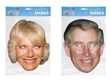 Prince Charles and Duchess of Cornwall Camilla Face Masks