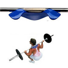 Blue Support Pad  Squat Ray Pad Shoulder Weightlifting Stabilizer Attractive