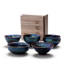 Tea cups Colorful tea cup Wonderful master tea cup calix mug Health teacup Blue