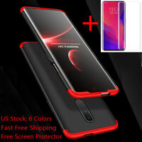 For Oneplus 7 Pro 360° Full Cover Shockproof Hybrid Slim Case+Screen Protector