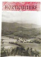 Horticulture Magazine August 1950 Geraniums Weed Killers Oldest Garden Roses