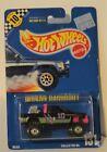Hot Wheels 1991 #131 Nissan Hardbody blue card