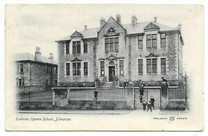 POSTCARDS-SCOTLAND-RENFREWSHIRE-JOHNSTONE-PTD. Ludovic Square School.