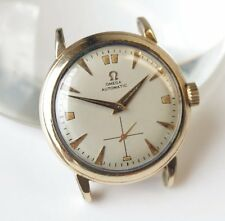 1952 Omega Bumper Automatic Watch/Wristwatch Sub Second 14K GF Case Cal 342 34mm
