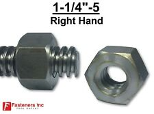 1 14 5 Acme Heavy Hex Nut Right Hand 2g For Acme Threaded Rod Rh 1 14 5
