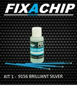SKODA CAR TOUCH UP PAINT - CODE  9156 - BRILLIANT SILVER (KIT 1)