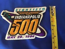 Indy 500 1996 VINTAGE Event Logo Patch NOS DODGE VIPER PACECAR Lazier Wins