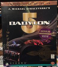 Babylon 5 Official Guide Pc Windows 95 - Best of Babylon 5 Soundtrack Cd