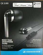 Sennheiser - CX 2.00I - 506092 Earphones - Black - Apple iOS