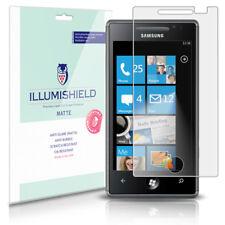 iLLumiShield Matte Screen Protector w Anti-Glare/Print 3x for Samsung Omnia 7
